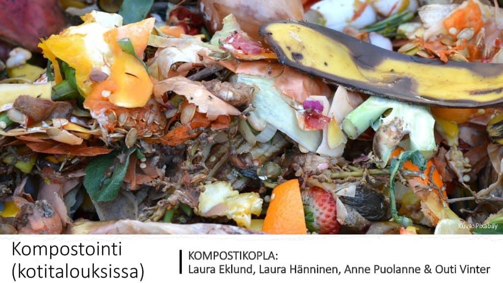 Kansikuva PDF-esitykselle Kompostointi kotitalouksissa