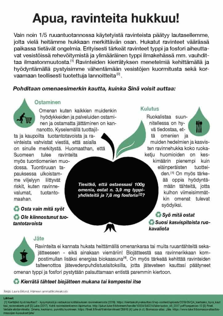 Esikatselukuva PDF-esityksestä Apua, ravinteita hukkuu!